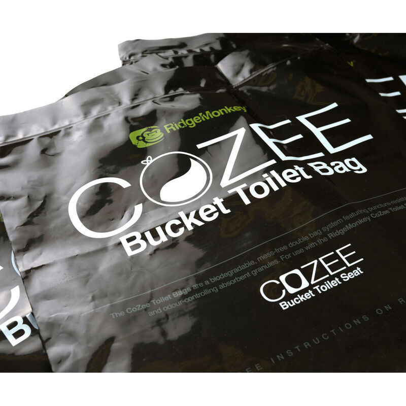 Sacs toilettes ridge monkey toilet bags (x5) - Seaux | Pacific Pêche