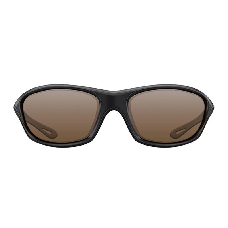 Lunettes polarisantes korda sunglasses wraps gloss black / brown lens - Lunettes | Pacific Pêche
