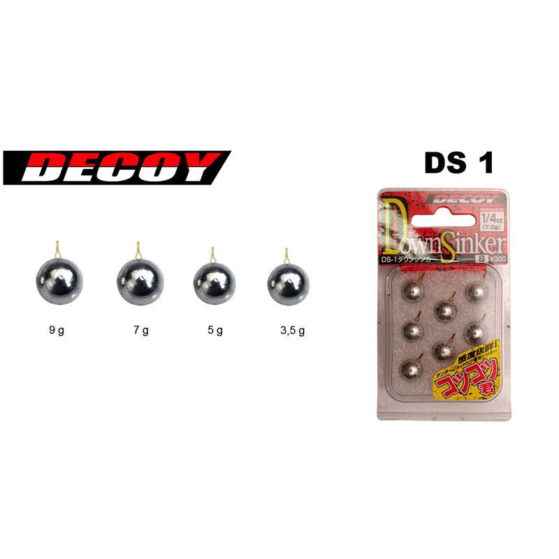 Plomb drop shot carnassier decoy ds1 dropshot - Drop Shot | Pacific Pêche