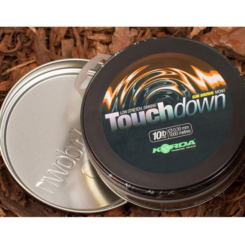 Nylon carpe korda touchdown brown - Monofilament   Pacific Pêche