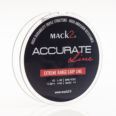 Nylon carpe mack2 accurate line 300 m - Monofilament | Pacific Pêche