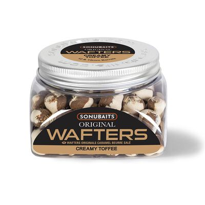 Dumbells équilibrés original wafters creamy toffee 12/15mm - Eschage | Pacific Pêche