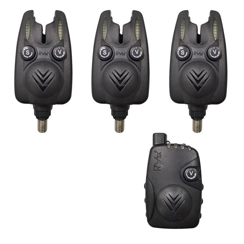 Coffret 3 détecteurs carpe mack2 revenger sx alarm set + centrale - Coffrets détecteurs | Pacific Pêche