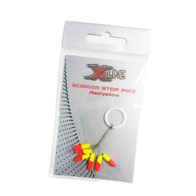 Stop float x-line bobber stop pike rouge/jaune - Flotteurs | Pacific Pêche