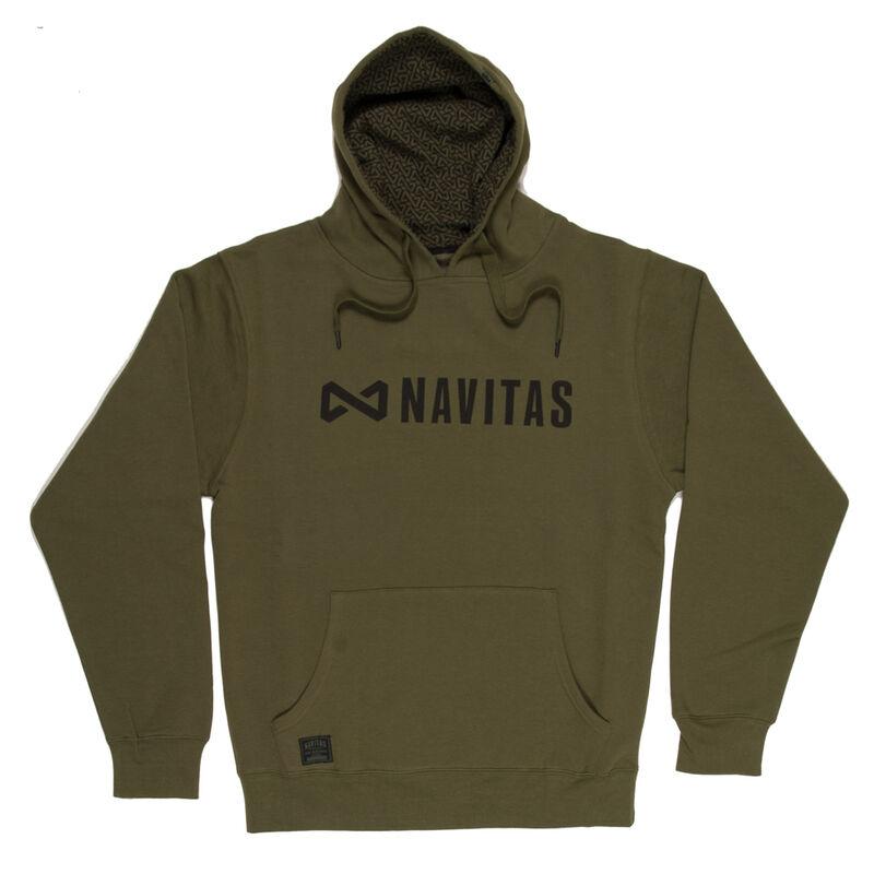 Sweat-shirt à capuche navitas core hoody green (vert) - Sweats | Pacific Pêche