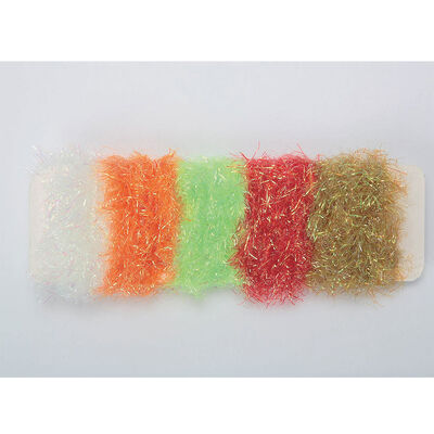 Fly tying jmc chenille maxi flash assortiment 5 coloris - Chenilles | Pacific Pêche