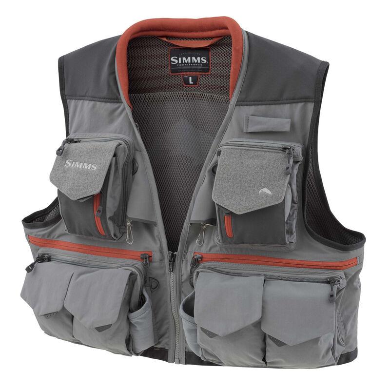 Gilet simms guide vest steel - Gilets de pêche   Pacific Pêche