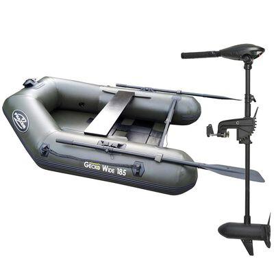 Pack bateau frazer geko wide 185 + moteur 30 lbs - Pneumatiques   Pacific Pêche