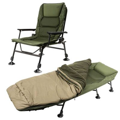 Pack confort mack2 bedchair + level chair european evo - Packs | Pacific Pêche