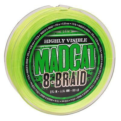 Tresse 8 brins silure madcat 8-braid verte 270m - Tresses | Pacific Pêche