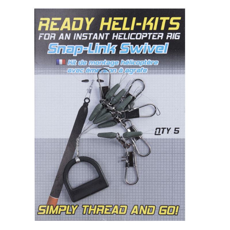 Agrafe pour flotteur coup korum ready heli-kits (x5) - Emerillons / Agrafes / Perles | Pacific Pêche
