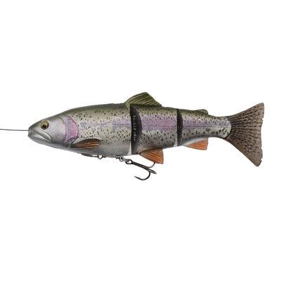 Leurre souple swimbait carnassier savage gear 4d line thru trout slow sink 20cm 93g - Leurres swimbaits | Pacific Pêche