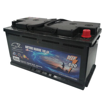 Batterie marine frazer 100ah 600 cycles - Batteries | Pacific Pêche