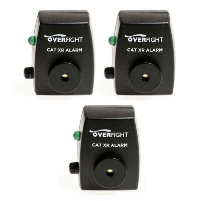 Pack de 3 détecteurs silure overfight cat xr alarm - Détecteurs | Pacific Pêche