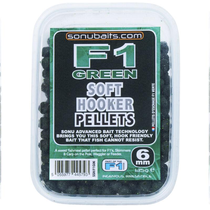 Pellets d'eschage coup sonubaits soft hooker  f1 green 135g - Eschage | Pacific Pêche