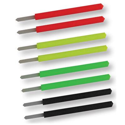 Kit antennes interchangeables fun fishing séries pro  k1 et k3 (8 pièces) - Flotteurs | Pacific Pêche