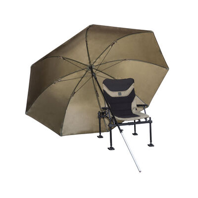 Parapluie de pêche au coup korum super steel brolly 2.50m - Parapluies | Pacific Pêche