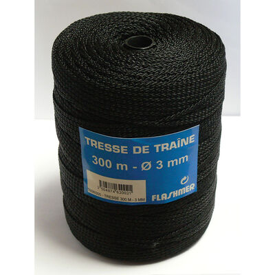 Tresse de traîne flashmer 3mm en bobine de 300m - Tresses | Pacific Pêche