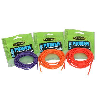 Élastiques  creux fun fishing k-pro power elastic 2.5mm - Elastiques   Pacific Pêche