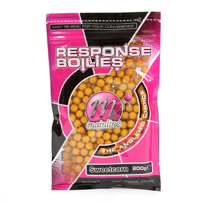 Bouillettes carpe mainline ready made boilies sweetcorn 200g - Denses | Pacific Pêche