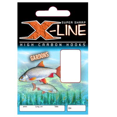 Hameçons montés coup x line gardons 40cm (x10) - Hameçons Montés | Pacific Pêche