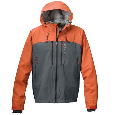 Veste orvis ultralight jacket couleur orange feu et cendre (orange burnt/ash) - Vestes/Gilets | Pacific Pêche