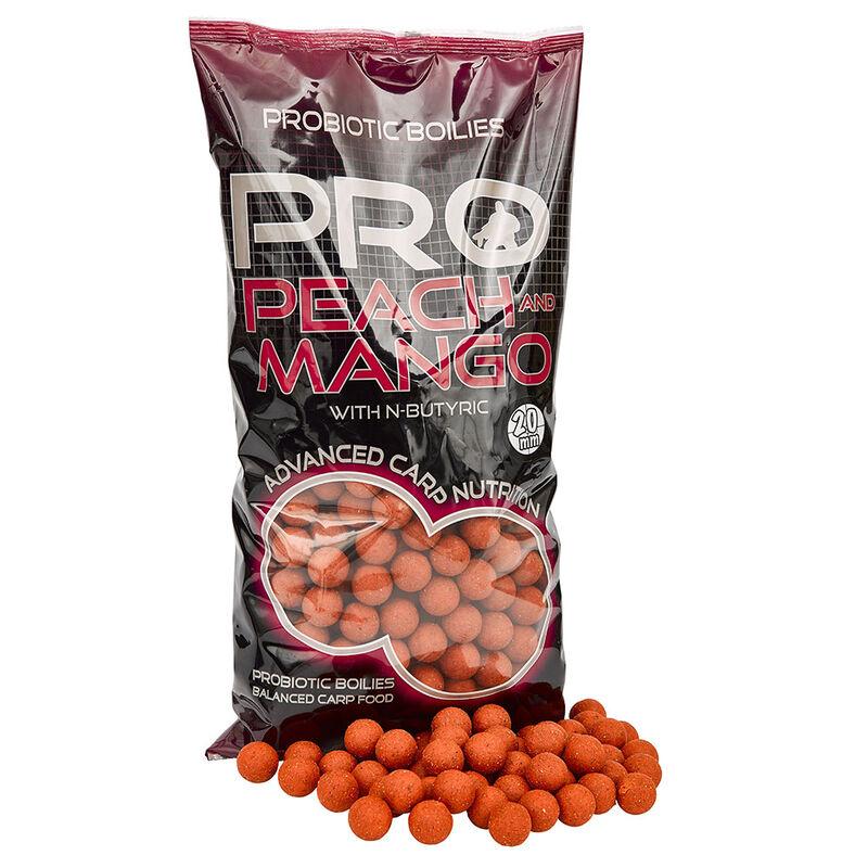 Bouillettes carpe probiotic peach / mango boilies 20mm - Denses   Pacific Pêche