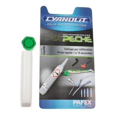 Colle cyanolit pour leurres souples - Vernis colle | Pacific Pêche