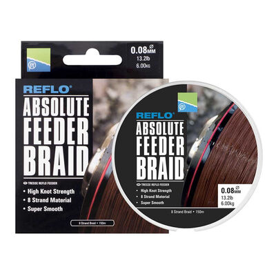 Tresse coup preston reflo absolute feeder 150m - Tresses | Pacific Pêche