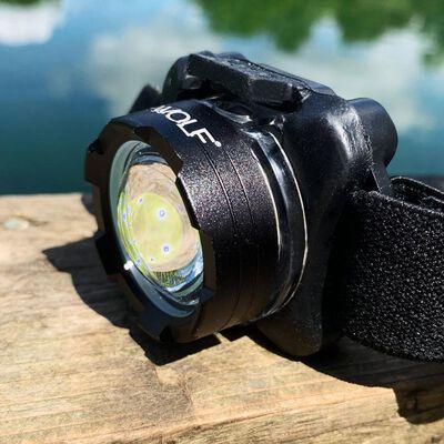 Lampe frontale wolf vex-150 powerbeam headlight - Frontale | Pacific Pêche