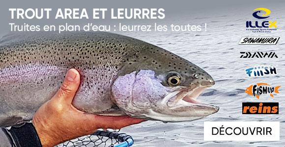 Pêche de la truite tous nos produits | Pacific Pêche