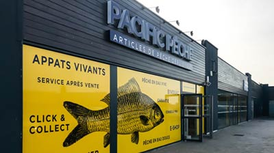 Trouvez votre magasin I Pacific Pêche